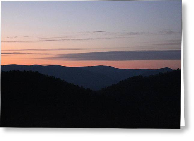 Carolyn Stagger Cokley Greeting Cards - Massanutten Sunrise Greeting Card by Carolyn Stagger Cokley