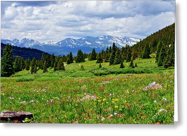 Mt. Massive Photographs Greeting Cards - Massive Backdrop Greeting Card by Jeremy Rhoades