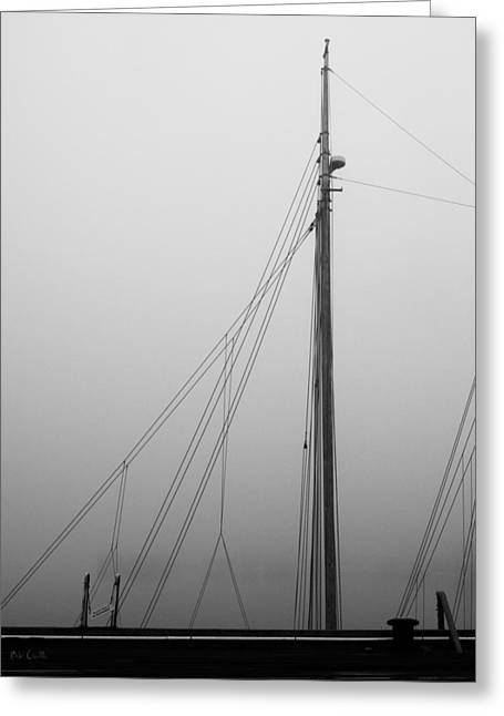 Decorative Art Greeting Cards - Mast and Rigging Greeting Card by Bob Orsillo