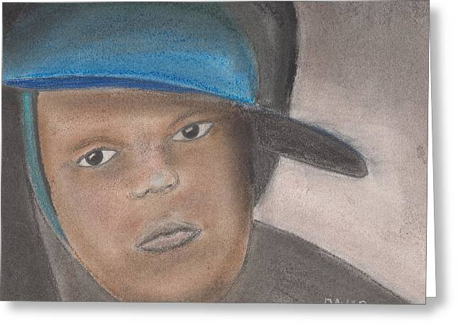African-american Pastels Greeting Cards - Master Guy Greeting Card by David Jackson