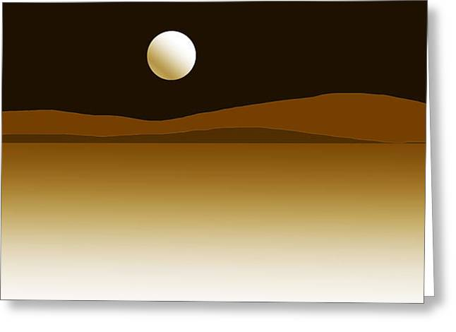 Dream Scape Greeting Cards - Master Of Landscapes Fortune Mountain Greeting Card by Sir Josef  Putsche