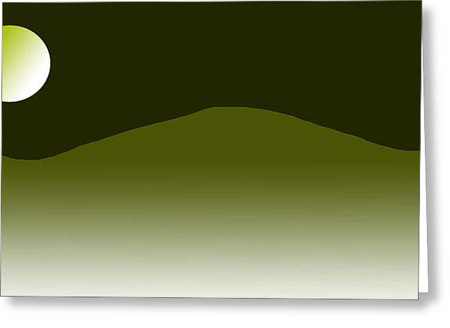 Dream Scape Greeting Cards - Master Of Landscapes Orror Mountain Greeting Card by Sir Josef  Putsche