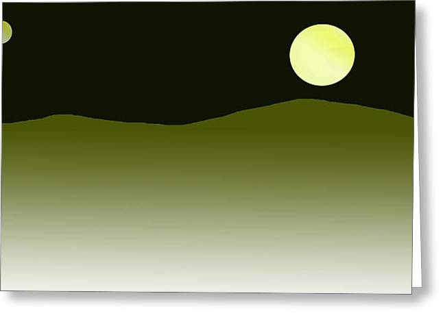 Dream Scape Greeting Cards - Master Of Landscapes Vita Mountain Greeting Card by Sir Josef  Putsche