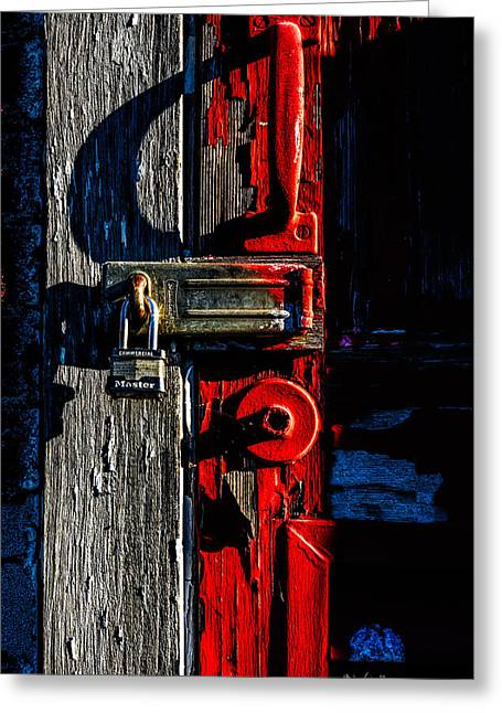 Canon 6d Greeting Cards - Master Of The Old Red Barn Greeting Card by Bob Orsillo