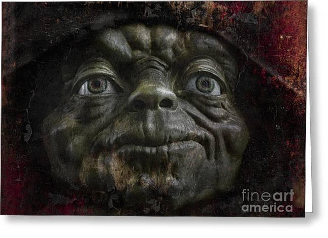 Master Yoda Greeting Cards - Master Yoda Greeting Card by Ray Evans