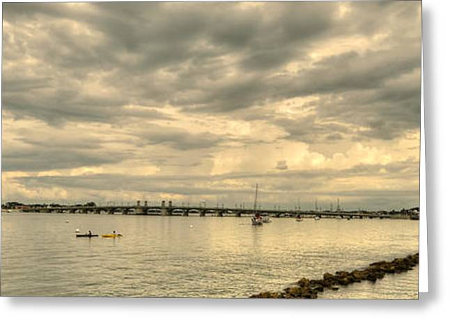 Matanzas Greeting Cards - Matanzas Bay Greeting Card by Dennis Clark