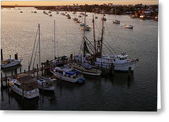Matanzas Greeting Cards - Matanzas Pass - Fort Myers Beach Greeting Card by Kim Hojnacki