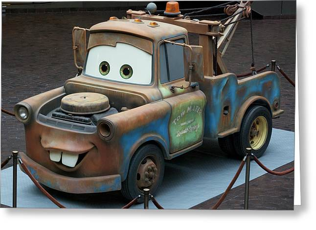 Photography By Tom Woolworth Greeting Cards - Mater Greeting Card by Thomas Woolworth