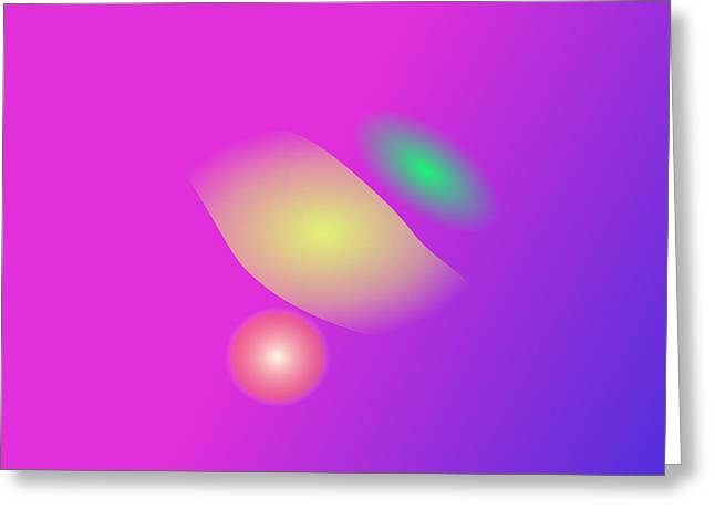 Gradations Digital Art Greeting Cards - Mathematical Precision Greeting Card by Masaaki Kimura