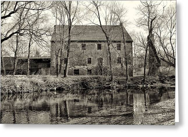 Grist Mill Greeting Cards - Mathers Grist Mill Greeting Card by Bill Cannon