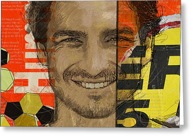 Mats Hummels Greeting Card by Corporate Art Task Force