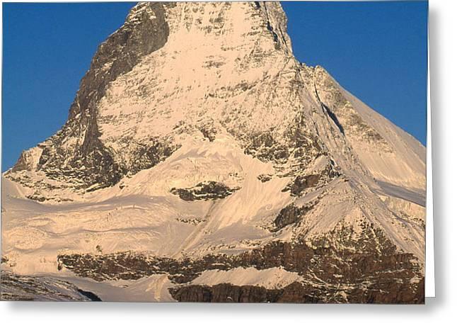 Matterhorn Greeting Card by Art Wolfe