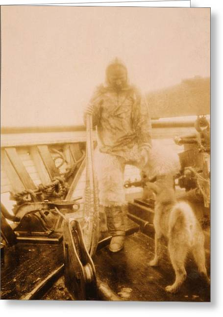 The North Greeting Cards - Matthew Henson, US explorer Greeting Card by Science Photo Library