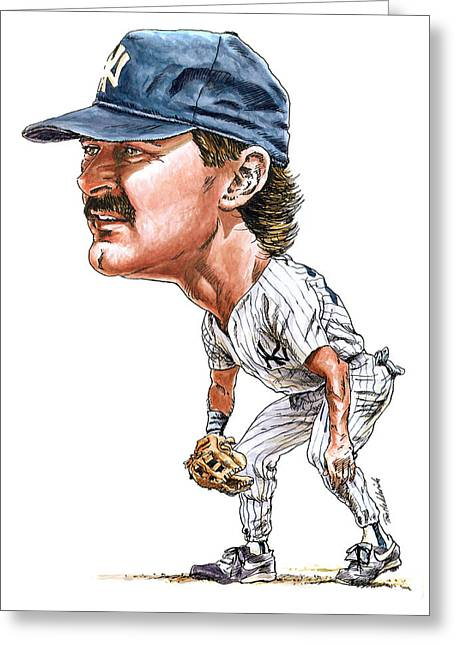 Mattingly Greeting Card by Tom Hedderich