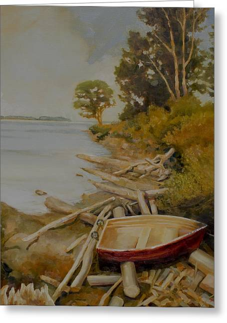 Bc Coast Greeting Cards - Maude Bay Greeting Card by Sue  Darius