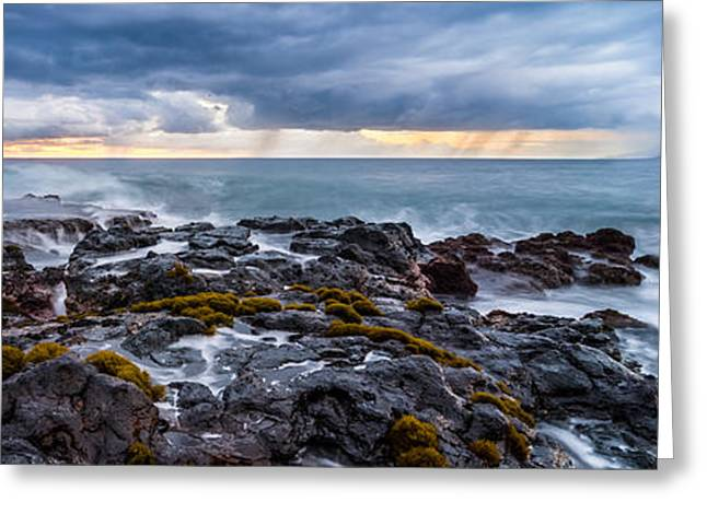 Ocean Art. Beach Decor Greeting Cards - Maui Dreaming Greeting Card by Radek Hofman