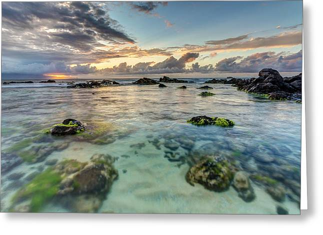 ; Maui Greeting Cards - Maui Seascape at sunset Greeting Card by Pierre Leclerc Photography