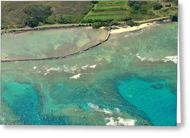 Lahaina Greeting Cards - Maui Shore 5 Greeting Card by Rachel Munoz Striggow