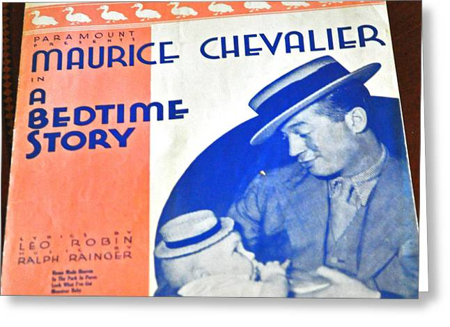 Chevalier Greeting Cards - Maurice Chevalier Greeting Card by Jay Milo