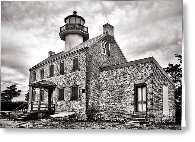 Historical Lighthouse Greeting Cards - Maurice River Light Greeting Card by Olivier Le Queinec