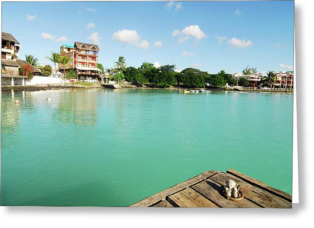 Mauritius, Grand Baie, A Small Teddy Greeting Card by Anthony Asael