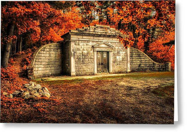 mausoleum Greeting Card by Bob Orsillo