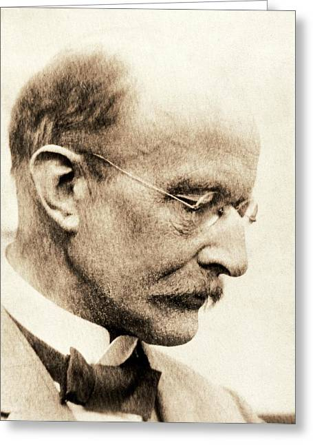 Max Planck Greeting Card by American Philosophical Society