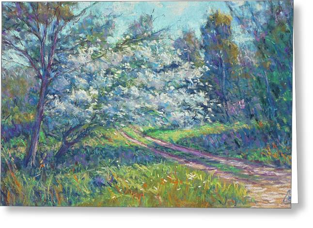 Sunlight Pastels Greeting Cards - May in Bloom Greeting Card by Michael Camp