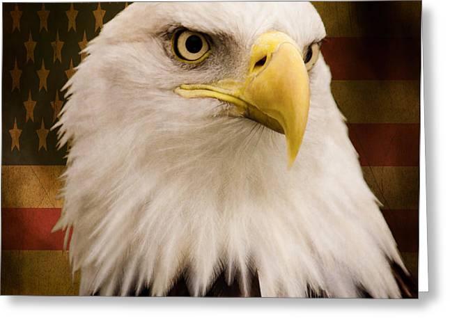 May Your Heart Soar Like An Eagle Greeting Card by Jordan Blackstone