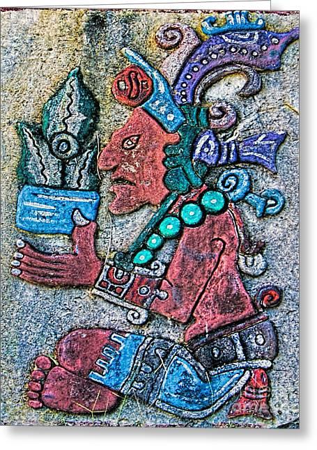 Mayan Mythology Greeting Cards - Maya Legends Greeting Card by Olga Hamilton