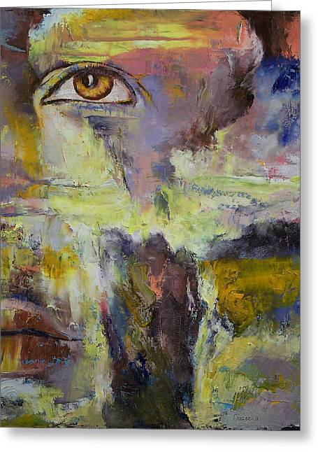 Mayan Prophecy Greeting Card by Michael Creese