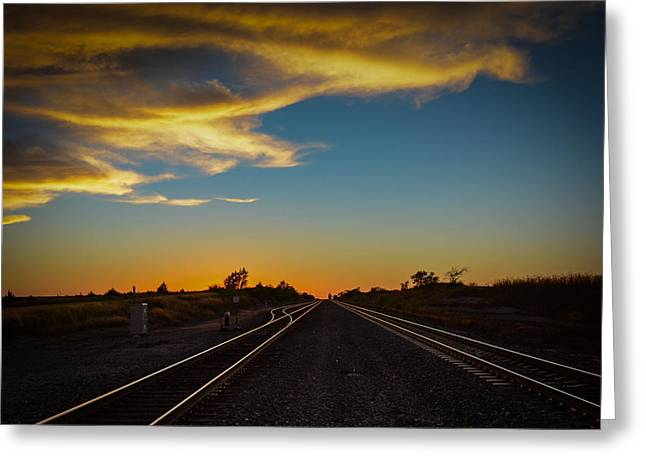 Mayfield Greeting Cards - Mayfield Kansas  Greeting Card by Larry Pacey