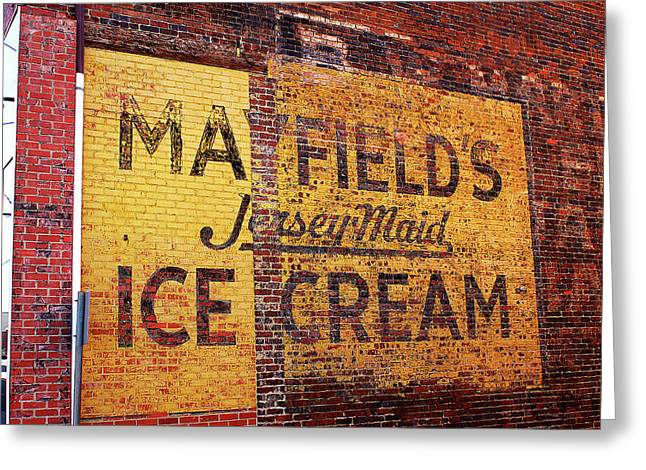 Mayfield Greeting Cards - Mayfields Ice Cream Greeting Card by Paul Mashburn