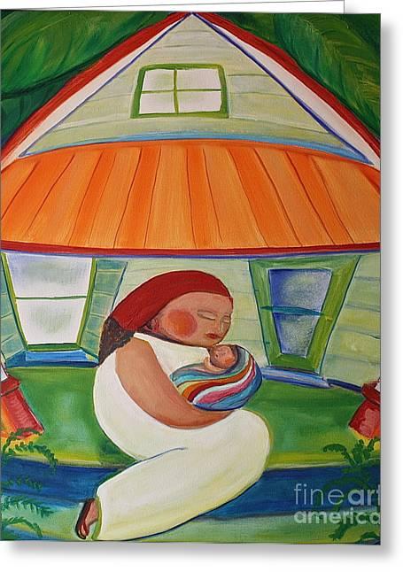 Teresa Hutto Greeting Cards - Mays Baby Greeting Card by Teresa Hutto