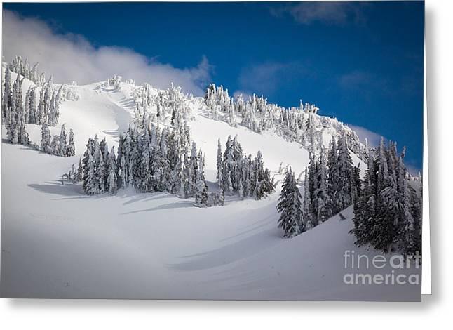 Mt Greeting Cards - Mazama Ridge Greeting Card by Inge Johnsson