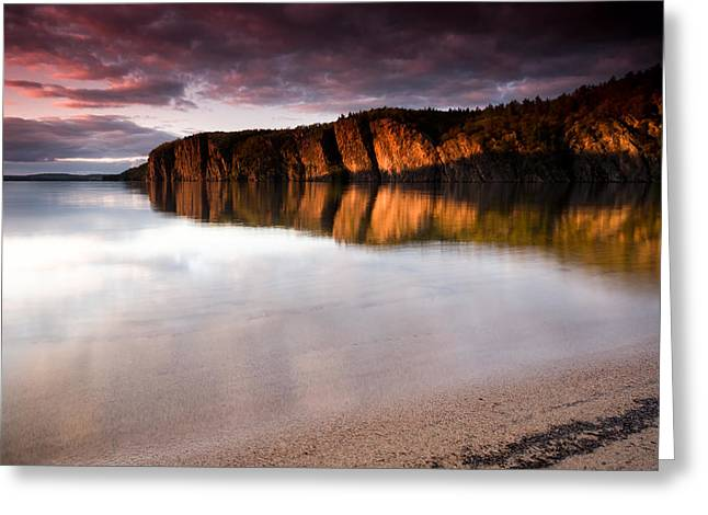 Echo Greeting Cards - Mazinaw Rock at Bon Echo Greeting Card by Cale Best