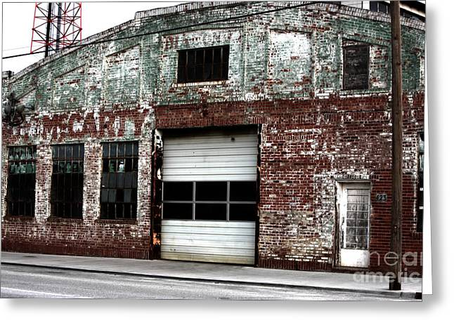 Tulsa Oklahoma. Architecture Greeting Cards - McCarty Greeting Card by John Rizzuto