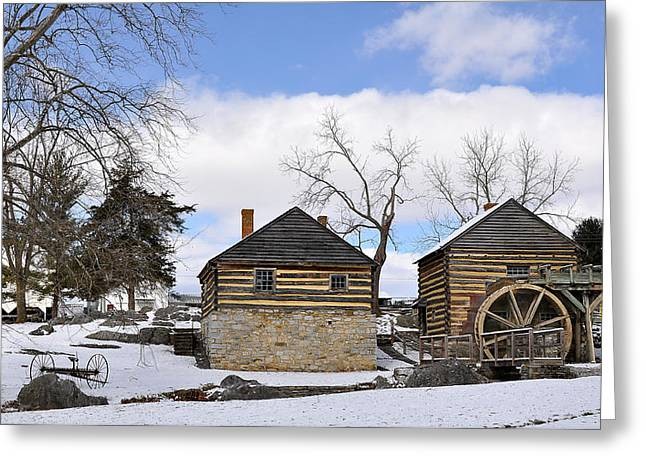 Log House Greeting Cards - McCormick Farm 1 Greeting Card by Todd Hostetter