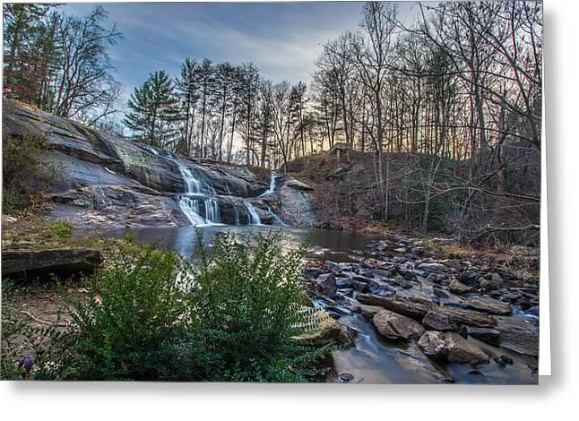McGalliard Falls Wide View Greeting Card by Randy Scherkenbach