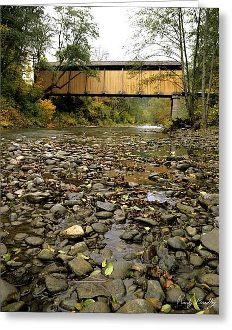 Crossover Greeting Cards - McKee Bridge Greeting Card by Randy Bradley
