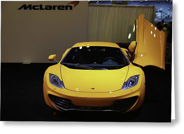 Mclaren 12c Can-am Edition Greeting Card by E Osmanoglu