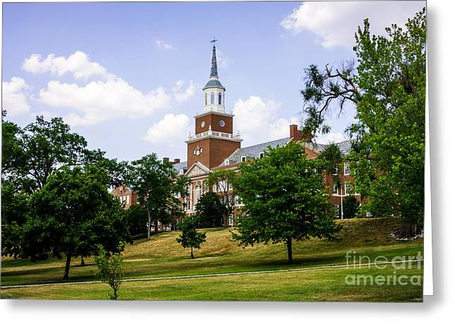University Of Cincinnati Greeting Cards - McMicken College at University of Cincinnati  Greeting Card by Paul Velgos