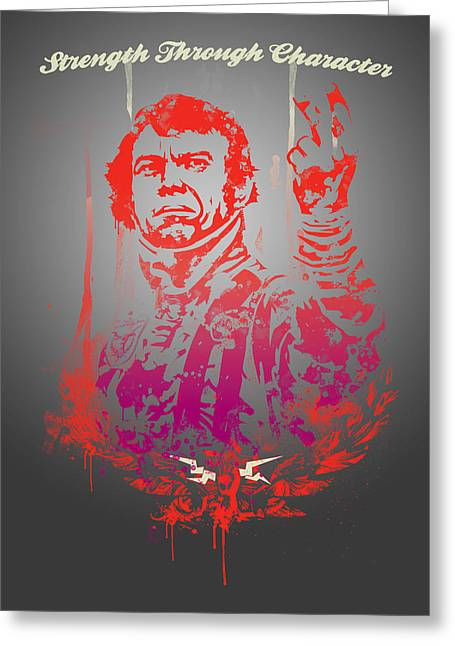 Historical People Greeting Cards - Mcqueen Greeting Card by Pop Culture Prophet