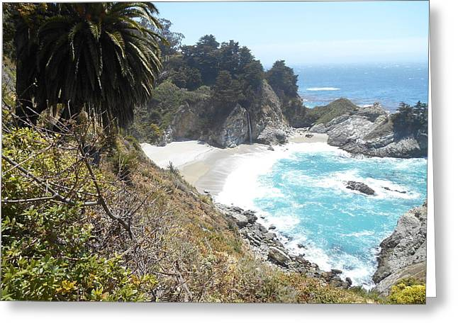 Pfeiffer Beach Greeting Cards - McWay Greeting Card by Brett Chambers