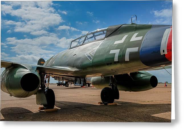 Me-262 Greeting Card by Alan Roberts