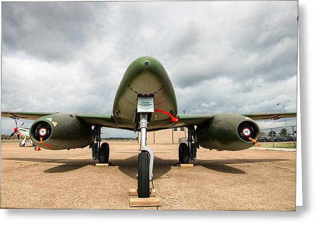 Me-262 Front Greeting Card by Alan Roberts