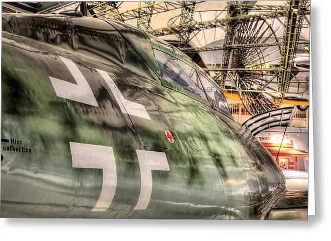 Naval Aviation Greeting Cards - Me262 Greeting Card by JC Findley