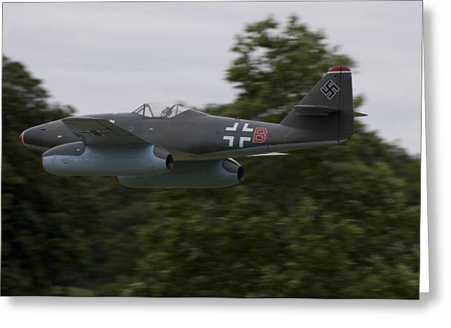 Me262 Greeting Card by Keith Griffiths
