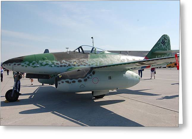 Me262 Greeting Cards - Me262 Greeting Card by Todd Elliott