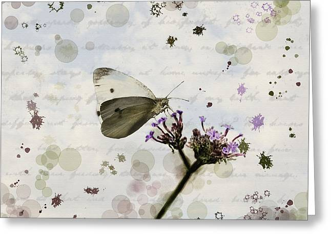 Graphics Framed Prints Greeting Cards - Meadow Garden Greeting Card by Melinda Dreyer